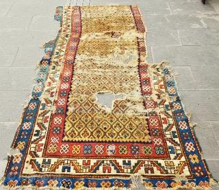 Size : 120 x 225 (cm),  Old Kazakh !