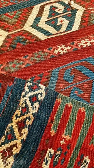 Size : 107 x 403 (cm), East anatolia (Erzurum) kilim .