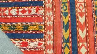Size : 130 x 345 (cm), Uzbek jajim , Natural dyes