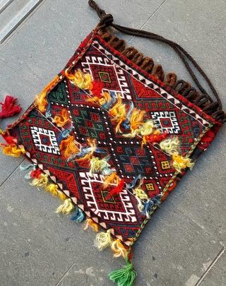 Size : 45 x 50 (cm), East anatolia ... shepherd's dinner bag.