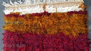 Size :140 x 210 (cm), Middle anatolia, hasandag . Tulu .