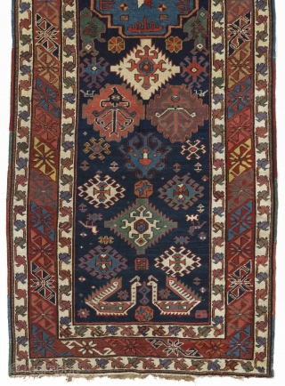 Shahsavan Runner, 104x272 cm, 19th Century. Please ask for a catalog showing our current collection.