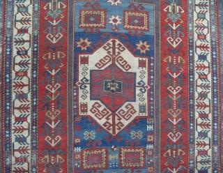 A Splendid Caucasian Fachralo Prayer Rug, Dated 1898, 175x125 cm.  www.rugspecialist.com