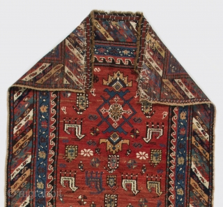 Shahsavan Runner, South Caucasus, 19th Century. 3.8 x 11 Ft  (112x330 cm)