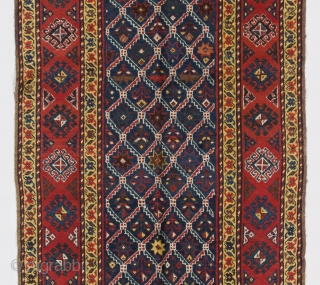 "South Caucasian Runner, 3'8"" x 11'4""  (112x346 cm), late 19th Century"