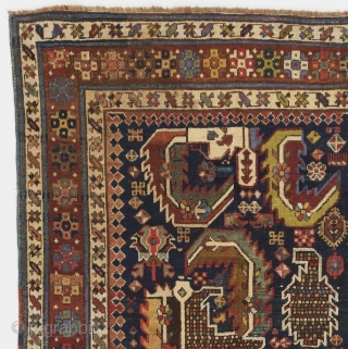 Gendje Rug, South Caucasus, 4 x 7 Ft (118x206 cm), no 715.