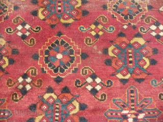 "Central Asian Carpet. 5'11""X8'4""....180X254 Cm. All wool."