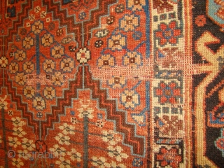 "NW Persian Kurdish long rug. 3'10""X8'4"""