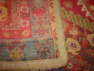 "Turkish Prayer Rug Size: 3'6"" X 5'4"""