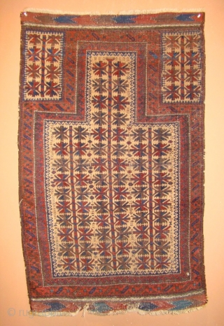 "Baluch Prayer Rug 34""X54"""