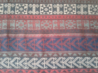 Highly collectible antique jajim from bidjar-Iran belongs to the end of 19th century. in very good condition from a private collection. vegetable dyes with eye catching colors. size:140*180 cm wool on wool This kind of jajim is  ...
