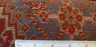 "An attractive late 19th Century Qashquli Qashqai rug. 179 x 111cm /5'11' x 3'8"""