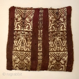 Pre-Columbian textiles in San Francisco and rugs too. Many small, complete Andean pieces 500 + years old at excellent prices - All from private collections.  By Appointment.
