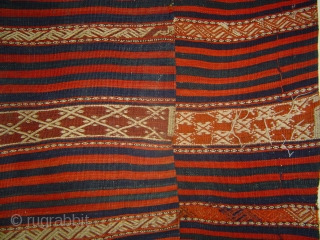 Large West Anatolia Balikesir region mixed technique kilim in very good condition, ca. 5 x 11 ft (150 x 325 cm)