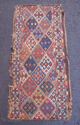 "Shahsavan Panel, 19th Century, 1' 7"" x 3' 4"""