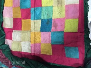 Around 1900 Tibetan temple umbrella fabric, s, size 66 cmx66cm price concessions