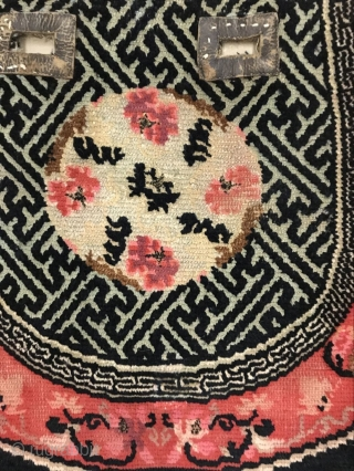 Tibet horse saddle blanket of the year 1880, all wool, welcome to consult!