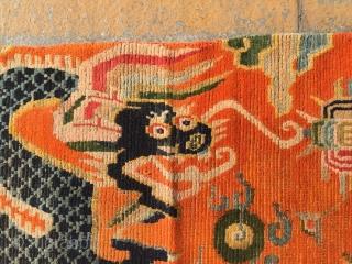 Around 1900, Tibetan carpets, s size 175 cmx90cm