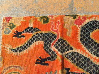 Around 1900, Tibetan carpets, s size 175 cmx90cm