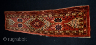 Fabulous 19th cent. Ersari/ Beshir Trapping. All Wool and natural colors.