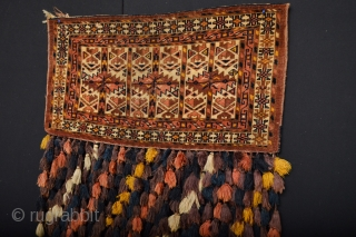 Beautiful and Rare Ersari Wedding Trapping in Orginal Condition.. Circa 1900 All Natural colors evenly low pile  no faded top or other things some old stains  few small hole as you  ...