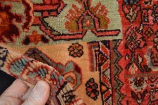 Top condition Full pile Antique Bidjar Sampler 1900-1920