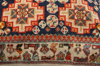 Beautifull  Antique Qasquli Tribe Bag/Pillow