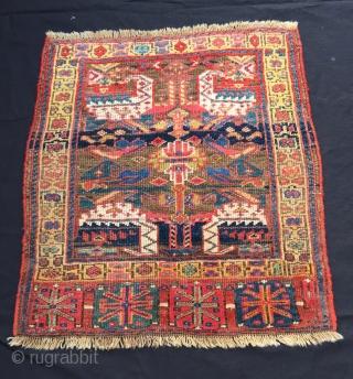 "Northwest Persian Rug Size:75x68 cm / 2'6""x2'3"""