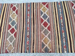 """West Anatolian Cecim (Helvacı) Rug Size:274x161cm. / 8'11""""x2'8"""""""