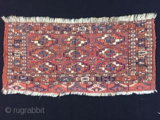 Turkoman Tekke Torba 19th Century  Size:60x27 cm / 24x11 inc