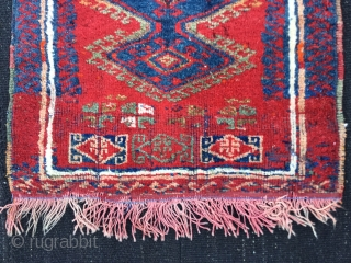 Central Anatolian Yastik-Begining of the 20th Century Size:62x50cm / 25x21 inches