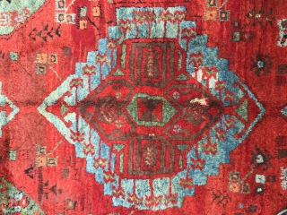 "Central Anatolian Karaman Area(Ayrancı village Rug) end of 18th / beginning of the 19th Century Size:305x135 Cm / 10""x4'5"""