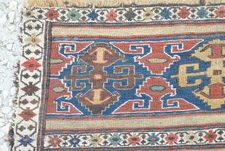Shahsavan sumac bag face,sumac tech.late 19th century   Size: 50 x 52 cm…