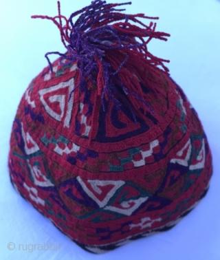Hat from CentralAsia (Turkmen)