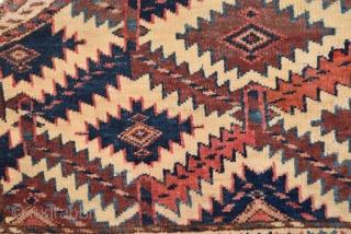 "Yomut Asmalyk 19th century size:66 x 38 cm        1'3""x 2""1"