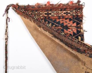 "Turkmen Yamut Torba 19th century size:63x38 Cm       2'2""x1'3"""""