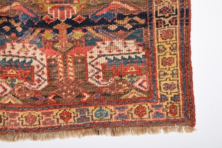 """19th century from Iran  bag face size 74 x 68 Cm         2'5"""" x2;2''"""