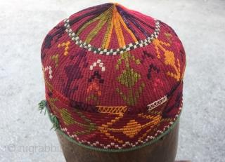 Hat from CentralAsia (Uzbekistan) 52 cm circumtance