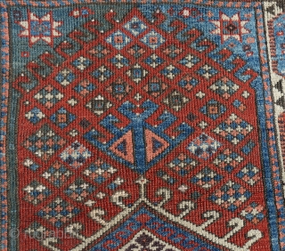 """Western Anatolian Bergama area Rug size:120 x 97 Cm       4'3""""x3'3"""""""""""