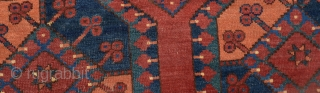 "Turkmen Ersari Main Rug size:314 x 212 cm          10'3x7"""