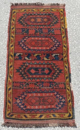 """Old Uzbek Yastik size:92x45cm 3'2""""x1'6"""""""