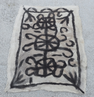 Central Anatolian (Toros mountain) Felt rug Circa 1920-1930 