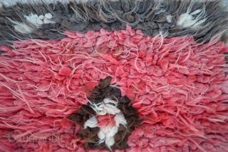 Central Anatolian Filikli Tulu Size: 92 x 86 Cm          32x 35 inches
