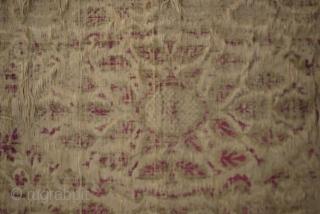 Ottoman Chatma Fragment Size:95 x 56 Cm