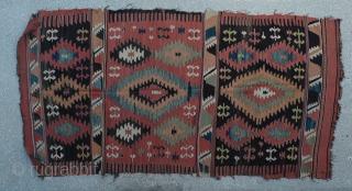 "Old Anatolian (probably Afyon region) Kilim Size:162x310 Cm         5'5""x 10'4"""