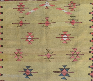 "Manastir kilim end of 19th Century-Begining of 20th Century   Size:108x134Cm           3'6""x4'6"""