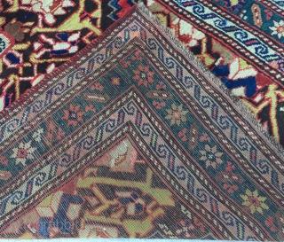 "Caucasian Karabagh Rug Size:290X120cm / 9'7""X3'10"""