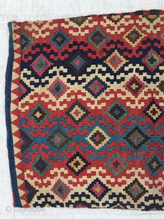 Eastern Anatolia, Malatya, heybe bag face. 80x56 cm / 33x22 inc.
