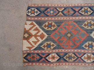 Shahsavan Mafrash Panel with all natural colors and fine weave,excellent condition.E.mail for more info and pics.