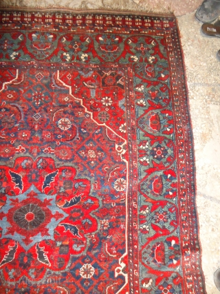 "Beautiful Khamseh or Qashqai Rug,with beautiful colours and shiney wool,very nice design,Fine weave and very good condition.Size 6*4'6"".E.mail for more info."
